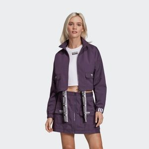 Adidas Jacket Skirt Set